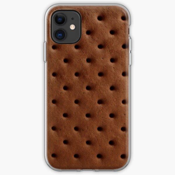 Ice cream sandwich iPhone Soft Case