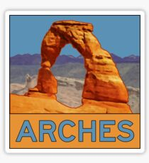 Arches National Park - Delicate Arch - Moab Utah Sticker