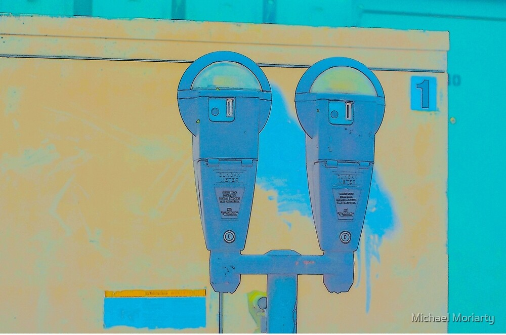 Parking Meter Photo Art by Michael Moriarty
