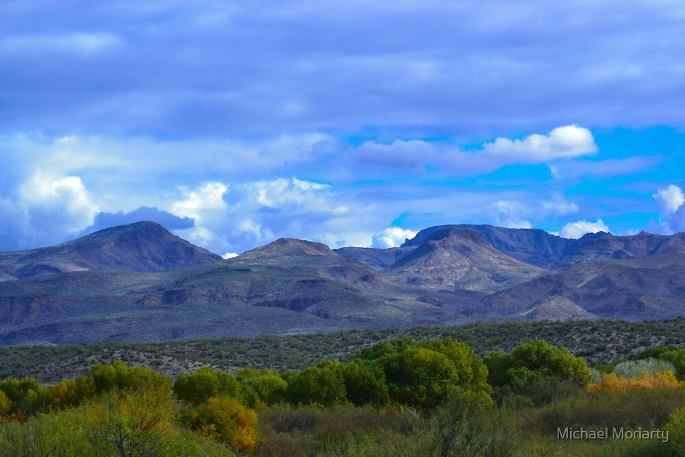 Scenic Landscape by Michael Moriarty