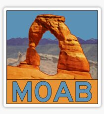 Moab Utah - Arches National Park - Delicate Arch Sticker
