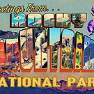 Greetings From Rocky Mountains National Park by Anthony Ross