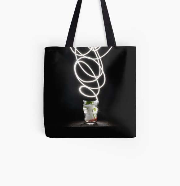 LIGHTING GLASS All Over Print Tote Bag
