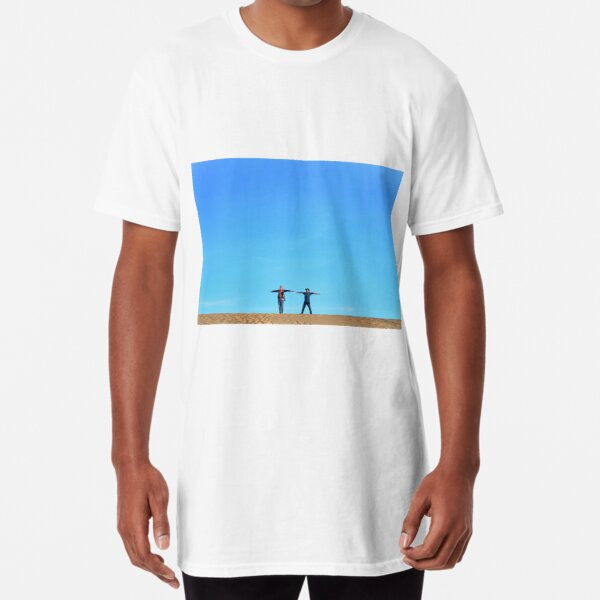 BLUE SKY  Long T-Shirt