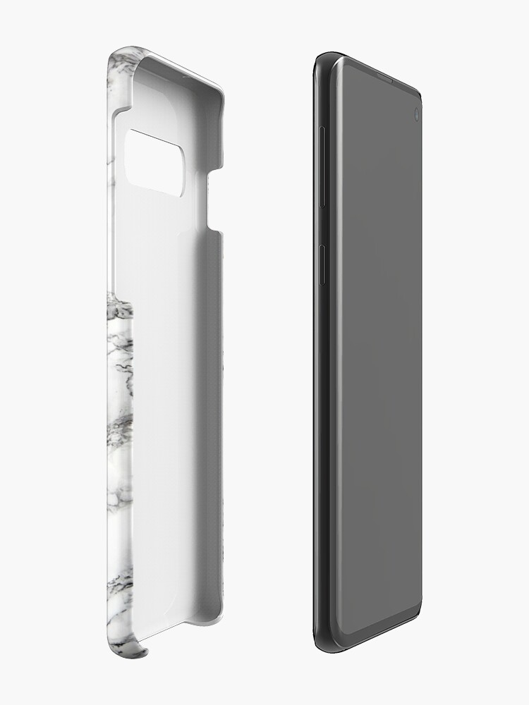 Alternate view of Marble pattern Case & Skin for Samsung Galaxy