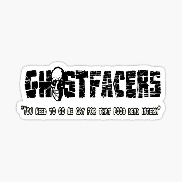 supernatural ghostfacers Sticker