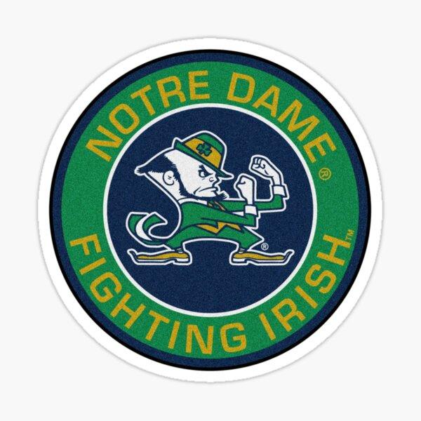 University of Notre Dame Sports Fan American Football  Sticker