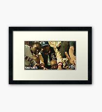 Kendrick Lamar - King Kunta (Music Video) Framed Print