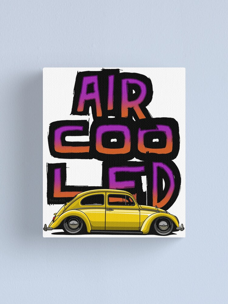 Alternate view of Aircooled nation Canvas Print