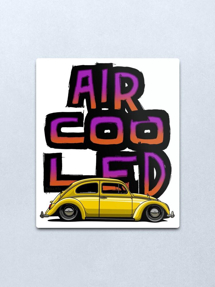Alternate view of Aircooled nation Metal Print