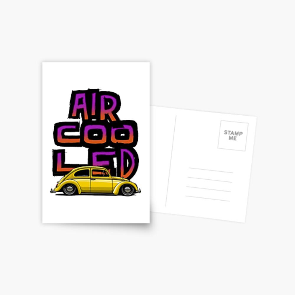 Aircooled nation Postcard