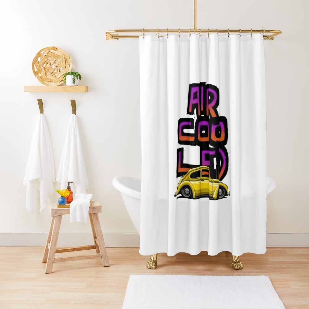 Aircooled nation Shower Curtain
