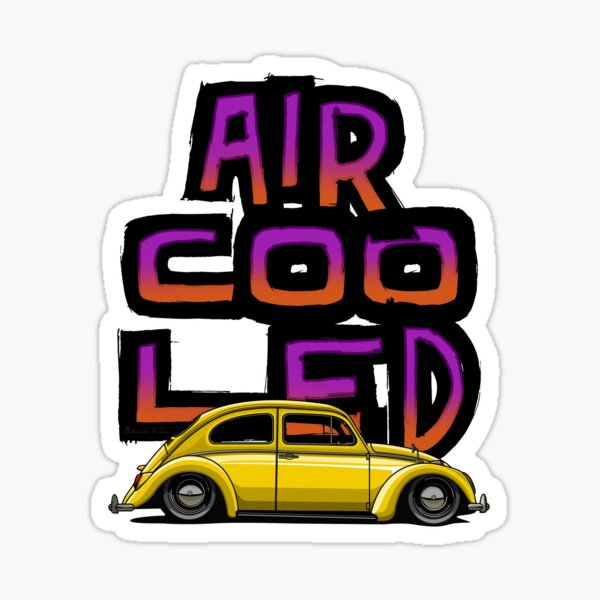 Aircooled nation Sticker