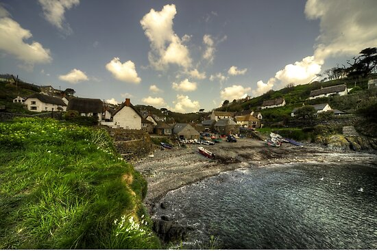 Cadgwith Cove Vista  by Rob Hawkins