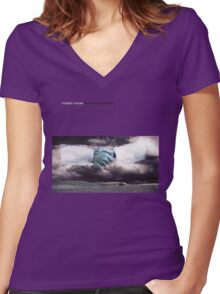 Modest Mouse - The Moon and Antarctica Shirt Women's Fitted V-Neck T-Shirt