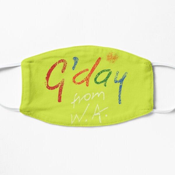Gday From WA Flat Mask