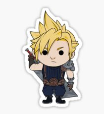 Cloud Strife Chibi Sticker