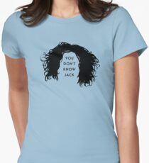 You don't know Jack Womens Fitted T-Shirt