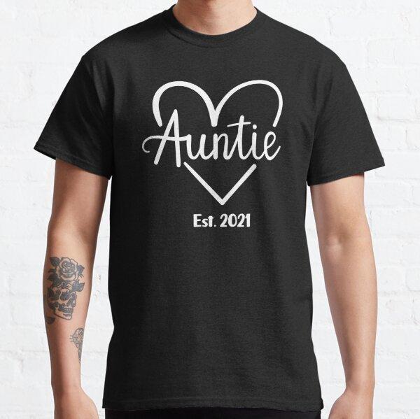 Tante est 2021 mignon promu à tante 2021 T-shirt classique