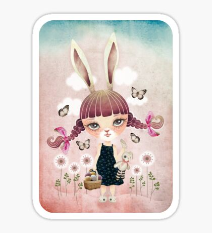 Sugar Bunny Sticker