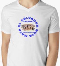 Tazumal Ruta Maya V-Neck T-Shirt