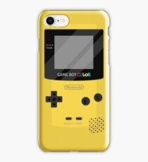 Gameboy Color - Yellow iPhone Case/Skin