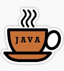 Java Mug Sticker
