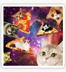 Pizza, die nicht von dieser Welt ist Sticker
