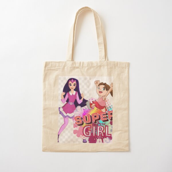 Super Girl is dedicated to all Girls. Cotton Tote Bag