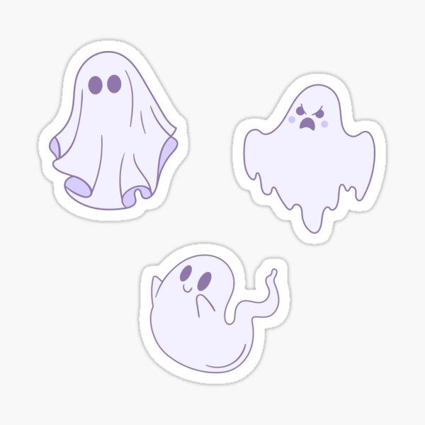 Cute Ghost Pack Sticker