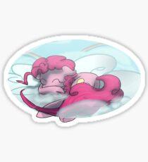 Sleepy Pie Sticker