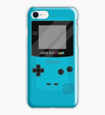 Gameboy Color - Teal iPhone Case/Skin