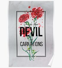 The Devil in Carnations Poster