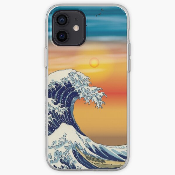 The Great Wave, Kanagawa Aesthetic Essential iPhone Soft Case