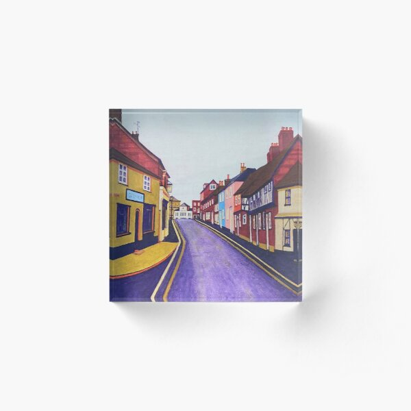 Petersfield street Acrylic Block