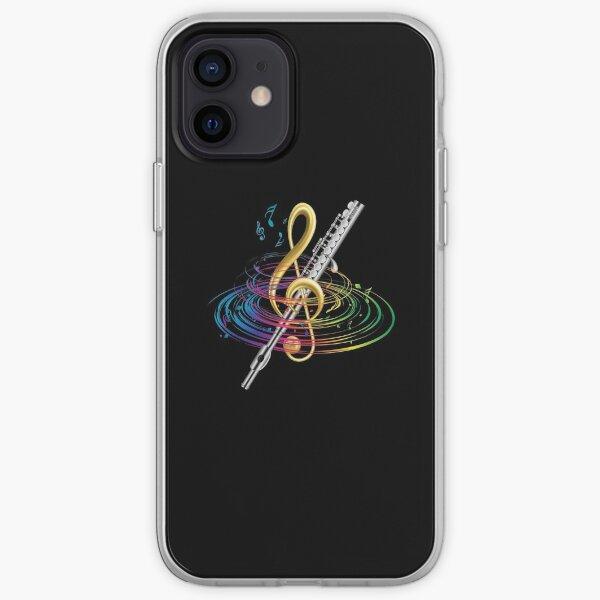 Flutist Vintage Flute iPhone Soft Case