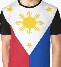 Philippines Flag Graphic T-Shirt
