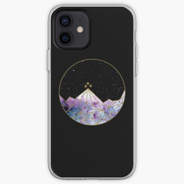 Night Court Watercolor iPhone Soft Case