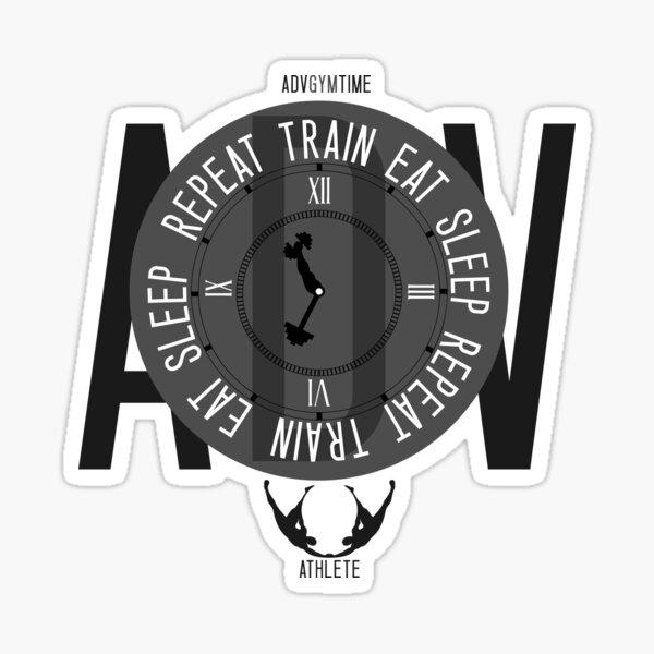 Train Eat Sleep Repeat Sticker