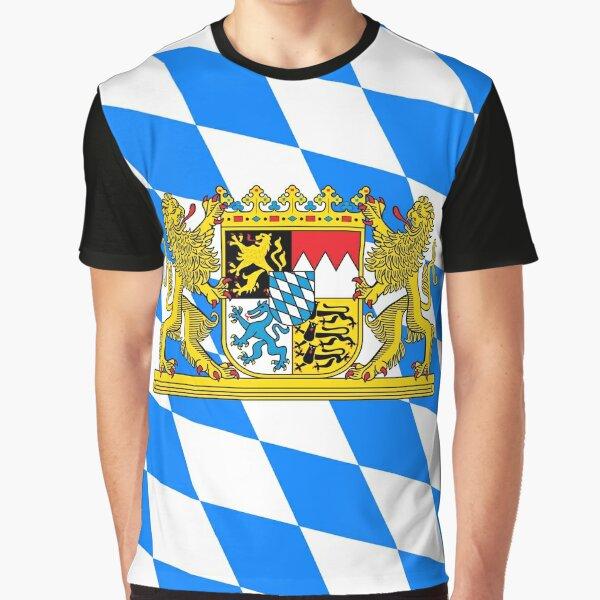 Bavaria COA Flag Graphic T-Shirt