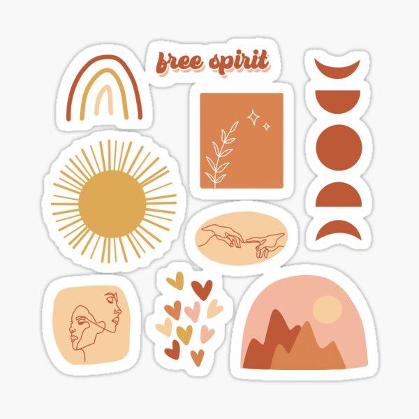 boho designs Sticker