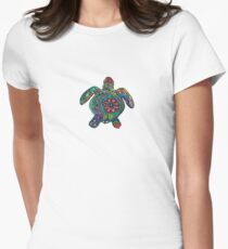 Sea turtle Women's Fitted T-Shirt