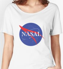 Nasal NASA Women's Relaxed Fit T-Shirt