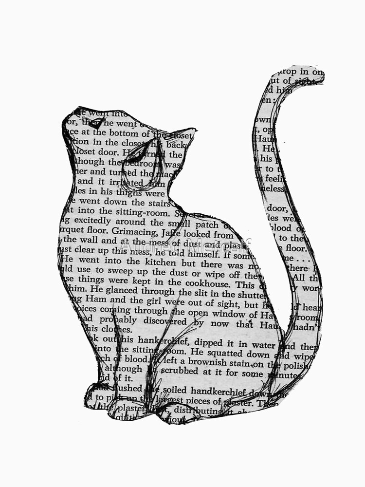 Bücher und Katzen und Bücher und Katzen von AUDREYHELLADOPE