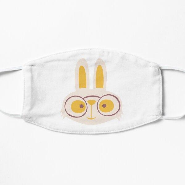 White Rabbit Flat Mask