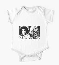 Cosmonauts: Tereshkova & Gagarin One Piece - Short Sleeve
