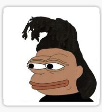 The Weeknd Pepe Sticker