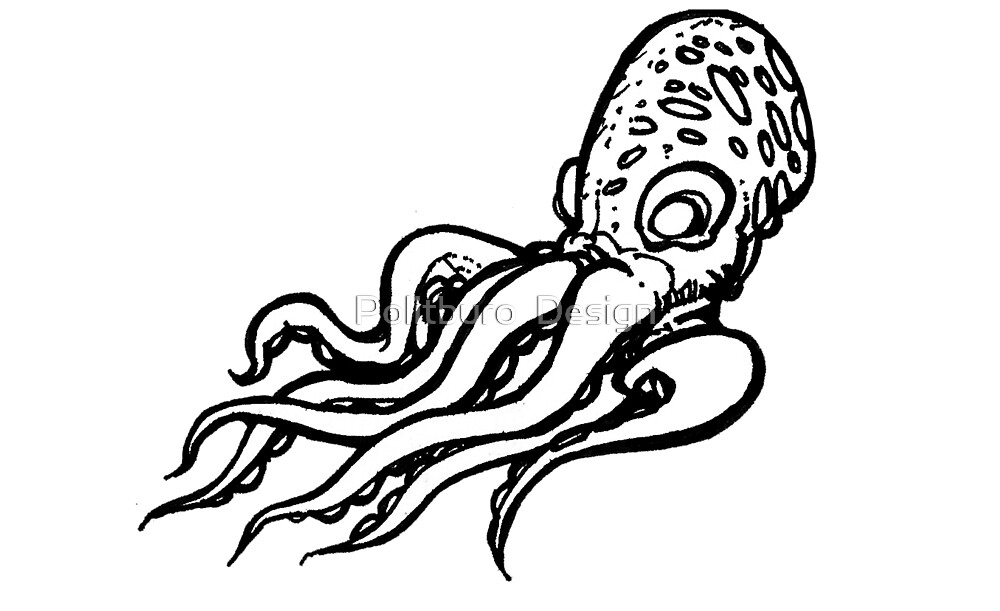 Octopus - Toilers of the Sea by richard b. hamer