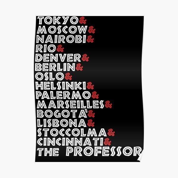 Nom de la casa de papel Poster