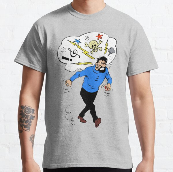 Angry Captain Haddock  Classic T-Shirt